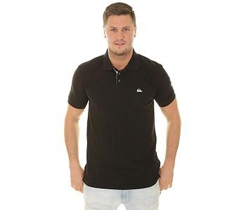 tričko Quiksilver Loia Polo - KVJ0/Black