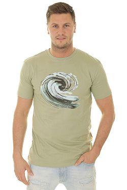 T-Shirt Quiksilver Still Waters - GHJ0/Seagrass - men´s