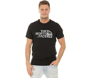 tričko The North Face Woodcut Dome - TNF Black