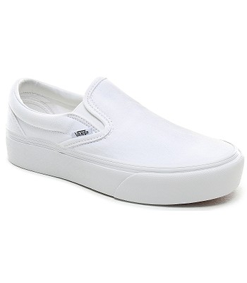 Esperar llevar a cabo Corbata  shoes Vans Classic Slip-On Platform - True White - blackcomb-shop.eu