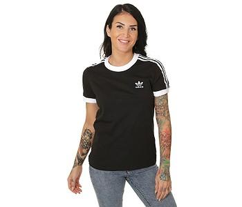 tričko adidas Originals 3 Stripes - Black