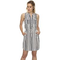 vestido Ragwear Roisin Stripes - 7000/White - women´s