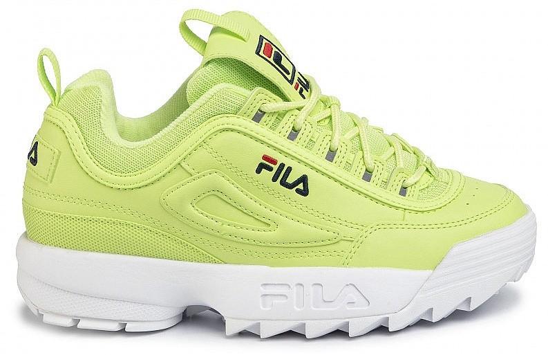 shoes Fila Disruptor Low - Sharp Green