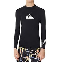 T-shirt Quiksilver All Time LS - KVJ0/Black - boy´s