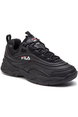 boty Fila Ray Low - Black/Black