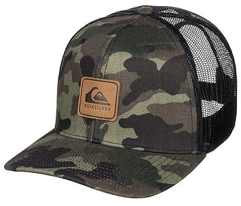 kšiltovka Quiksilver Easy Does It Trucker - GRA0/Camo
