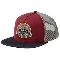 gorra con visera Burton Marble Head Trucker - Dress Blue/Tandori - men´s