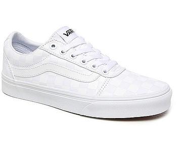 boty Vans Ward - Checkerboard/White/White