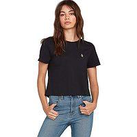 T-Shirt Volcom Levstone - Black - women´s