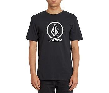 tričko Volcom Crisp Stone Basic - Black