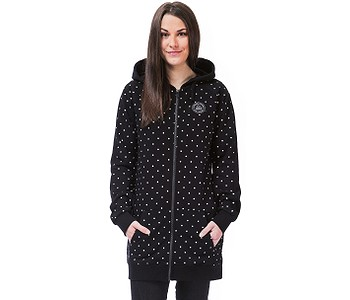 mikina Horsefeathers Paige Zip - Dots