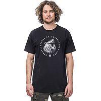 T-Shirt Horsefeathers Bruin - Black - men´s