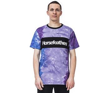 tričko Horsefeathers Spaz - Tie Dye