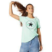 T-Shirt Converse Chuck Patch Nova/10017759 - A09/Ocean Mint - women´s