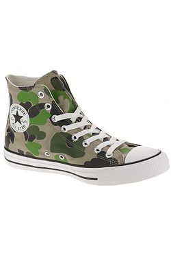 boty Converse Chuck Taylor All Star Archival Camo Hi - 166714/Black/Candied Ginger/White