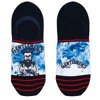 ponožky Xpooos Barber - 62027/Black