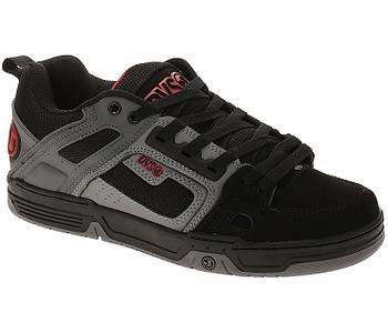 boty DVS Comanche - Black/Charcoal/Red/Nubuck