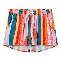 Shorts Femi Stories Albus - HSTR/Holiday Stripes - women´s