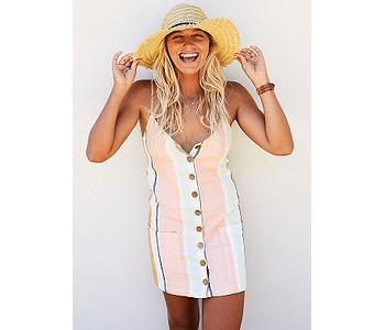 šaty Rip Curl Sunsetters Stripe - Multi