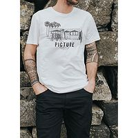 T-Shirt Picture Dad And Son Shop - White - men´s