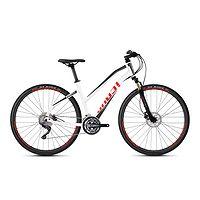 vélo Ghost Square Cross 2.8 Lady - Star White/Jet Black/Fiery Red - women´s