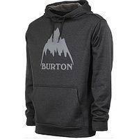 mikina Burton Oak Pullover - True Black Heather