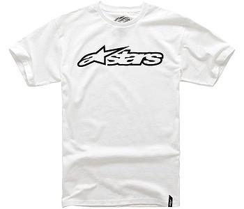 tričko Alpinestars Blaze Classic - White/Black