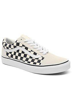 shoes Vans Old Skool - Checkerboard/White/Black