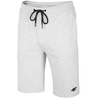 shorts 4F NOSH4-SKMD001 - 27M/Cold Light Gray Melange - men´s