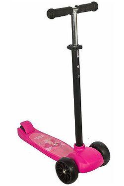 scooter Enero Little Princess - Pink/Black - kid´s