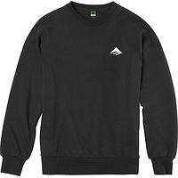 sweatshirt Emerica Triangle Staple Crew - Black - men´s