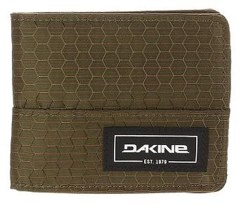 peněženka Dakine Payback - Dark Olive Dobby