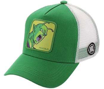 kšiltovka Capslab Dragon Ball Z Trucker - Piccolo/Green