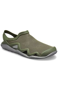 boty Crocs Swiftwater Mesh Wave - Army Green/Slate Gray