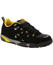 boty És Symbol - Black/Yellow