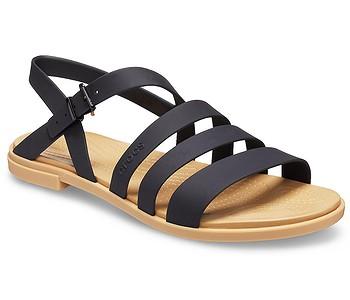 boty Crocs Tulum Sandal - Black/Tan