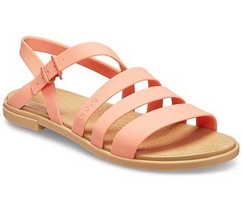 boty Crocs Tulum Sandal - Grapefruit/Tan