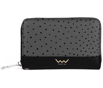 peněženka Vuch Lora - Black/Gray/Dots