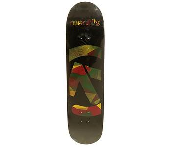 skateboard Meatfly Netto - A/Black Rasta