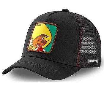 šiltovka Capslab Looney Tunes Trucker - Speedy Gonzales/Black