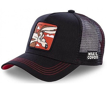 kšiltovka Capslab Looney Tunes Trucker - Coyote/Black
