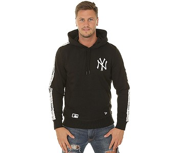 mikina New Era Sleeve Taping Pullover MLB New York Yankees - Black