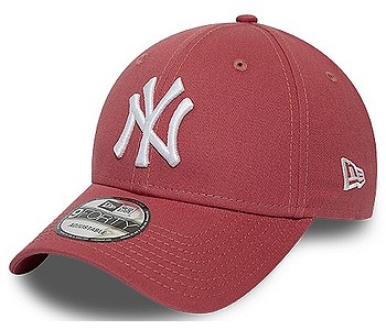 kšiltovka New Era 9FO League Essential MLB New York Yankees - Coral