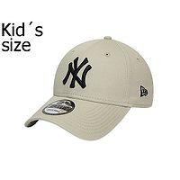 cap New Era 9FO League Essential MLB New York Yankees Child - Stone/Navy - kid´s