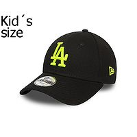 cap New Era 9FO MLB Los Angeles Dodgers Child - Black/Neon Yellow - kid´s