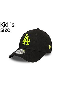 kšiltovka New Era 9FO MLB Los Angeles Dodgers Child - Black/Neon Yellow