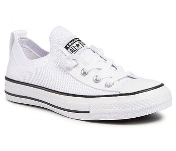 boty Converse Chuck Taylor All Star Shoreline Knit Slip - 565490/White/Black/White