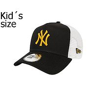 boné de basquete New Era 9FO AF League Trucker MLB New York Yankees Child - Black/Yellow - kid´s