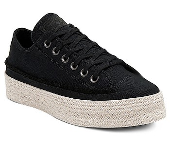 boty Converse Chuck Taylor All Star Espadrille OX - 567685/Black/White/Natural