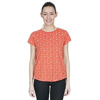 T-shirt Trespass Carolyn - Peach Birds - women´s